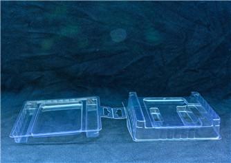 plastic clamshell packaging box