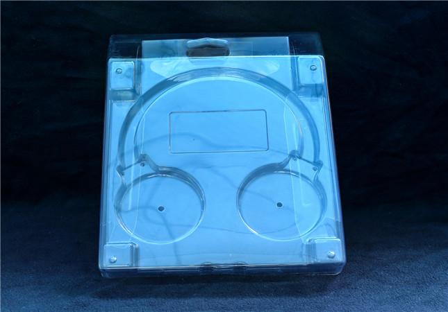 clamshell blister packaging box for earphone