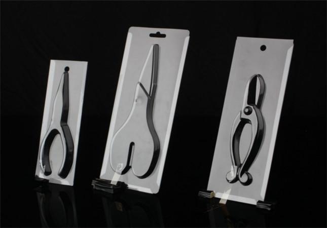 blister plastic box for packing scissors