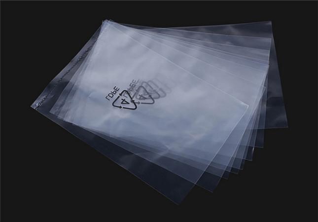 Transparent PE bag
